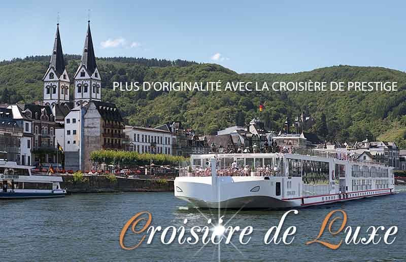 Croisière fluviale de luxe
