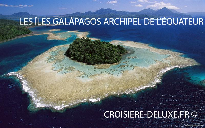 Les îles Galápagos sont un archipel de l'Équateur