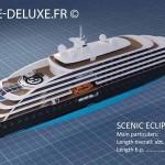 Scenic Eclipse longueur et dimensions