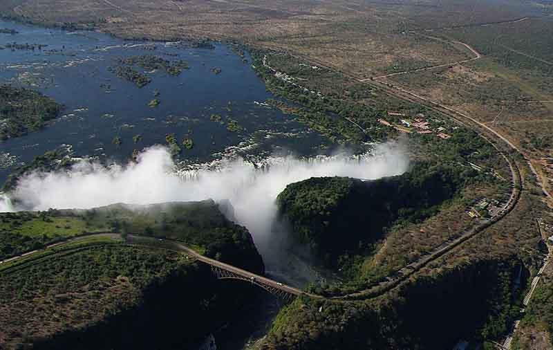 chutes Victoria de la Namibie