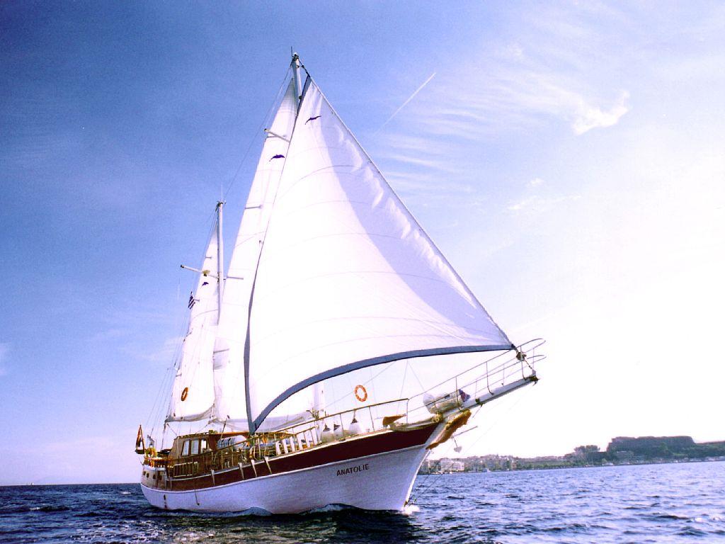 croisière goélette traditionnelle iles grecques