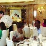restaurant du navire Queen Elizabeth
