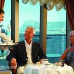 salon de thé du navire Queen Elizabeth