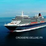 traversée du Queen Elisabeth - Cunard