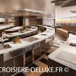 Cuisine gastronomique au bord Seven Seas Explorer de Regent