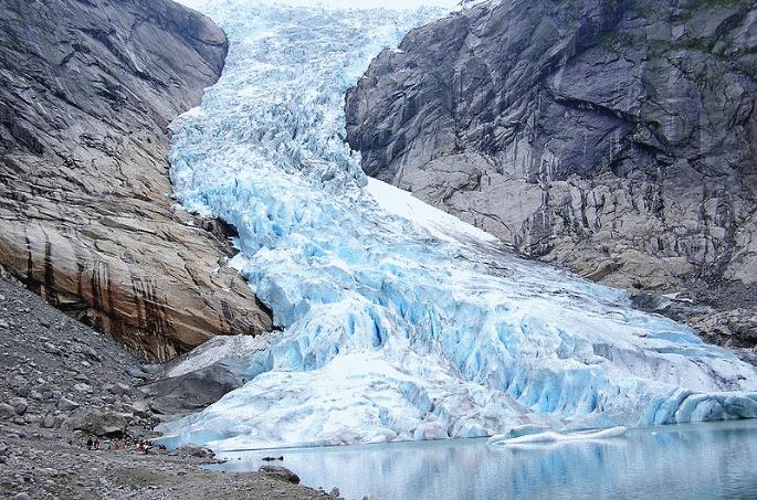 Glacier Briksdal, Norvège