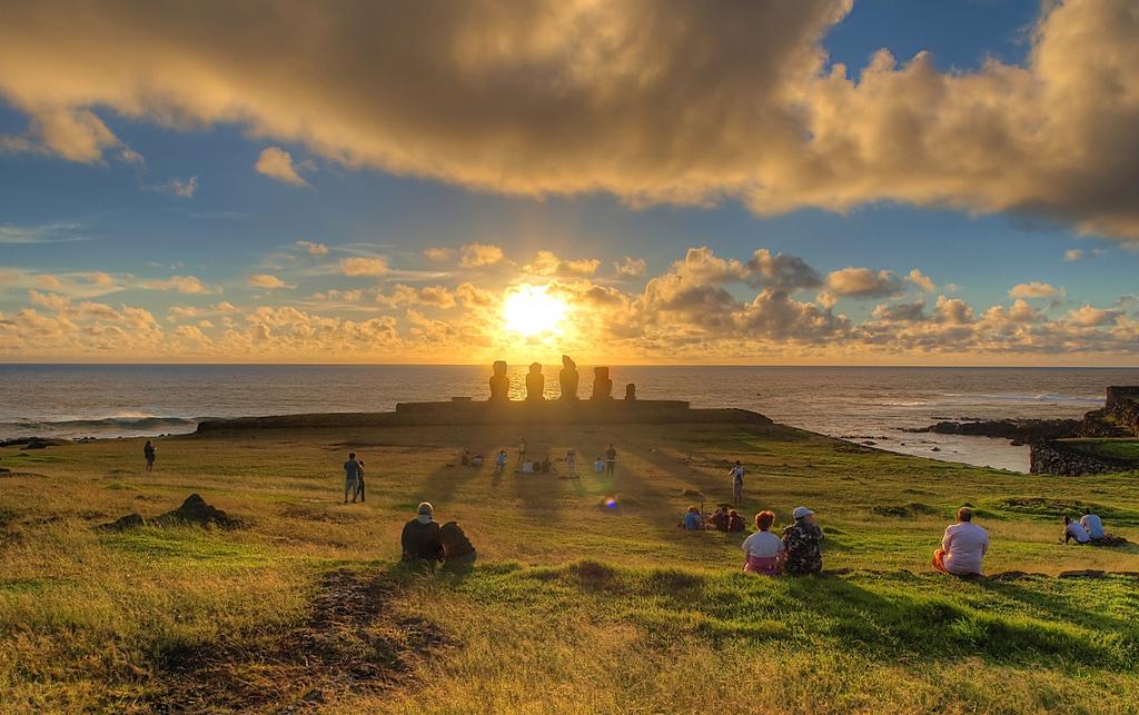 Tahai sur l'Île de Pâques