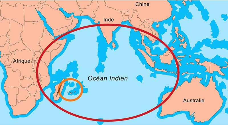 croisière océan indien - destinations
