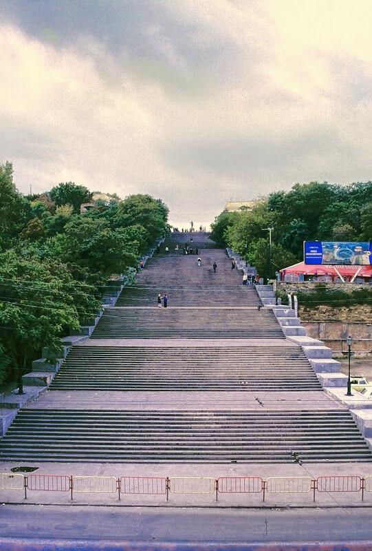 Escalier du Potemkine en Ukraine