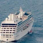 Azamara Journey en navigation (vue aérienne)