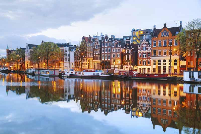 Escale à Amsterdam - Croisière de luxe sur le Rhin