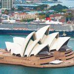 Le Queen Elisabeth à Sydney