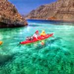 Rafting à Musandam lors d'une croisière fjords khasab