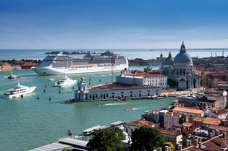 Voyage de noces en croisière à Venise