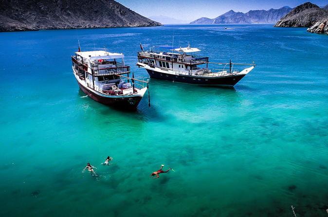 activités au Khasab lors d'une croisière dans les fjords de Khasab à Oman