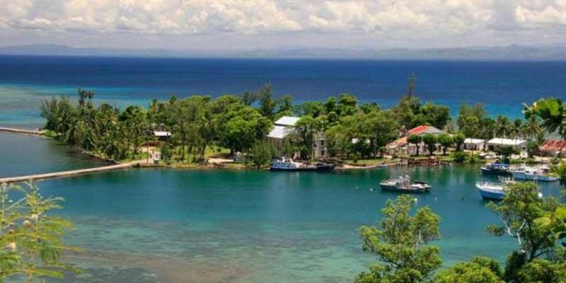 L'île Sainte-Marie, autrefois nommée Nossi-Ibrahim, devenue aujourd'hui en malgache Nosy Boraha, est une île de la région d'Analanjirofo, dont les côtes sont éloignées de 5 à 12 km des rivages nord-est de Madagascar, dans l'océan Indien.
