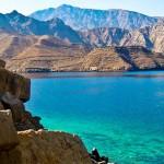 Vue panormaique des fjords de Khasab