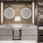 Crystal Esprit - salle de bain de la Suite