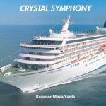 Crystal Symphony vue de profil