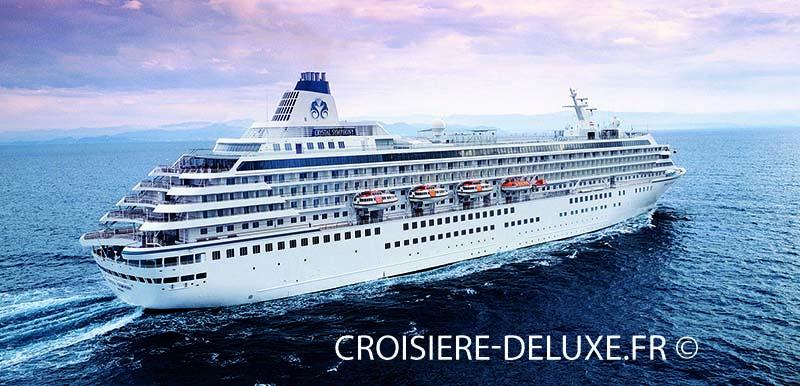 crystal symphony bateau de la compagnie crystal cruises. Black Bedroom Furniture Sets. Home Design Ideas