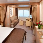 Seabourn Suite - Cat. A #433 - Deck 4 Midship Seabourn Odyssey - Seabourn Cruise Line