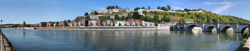 vue panoramique fleuve - Namur