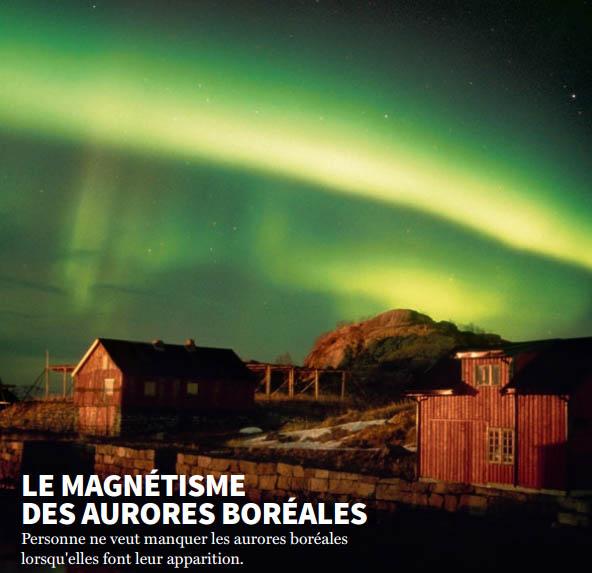 Le magnétisme des aurores boréales