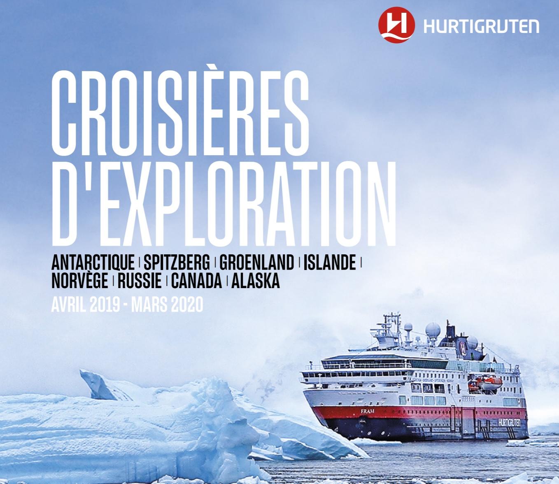 Hurtigruten Croisières d'exploration 2019 à 2020