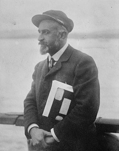 Jean-Baptiste Charcot, explorateur polaire et médecin, le 12 juin 1925.