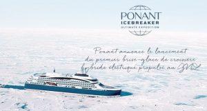 Le Ponant Icebreaker, livré en 2021, sera le premier navire de croisière de luxe brise-glace hybride