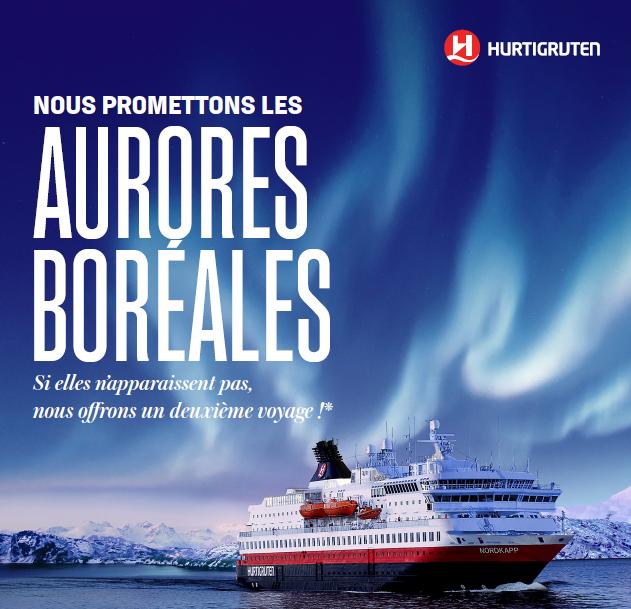 croisiere aurores boreales Hurtigruten