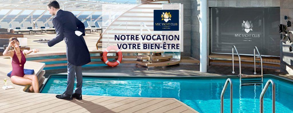 MSC Yacht Club, pour une croisière luxe d'exception