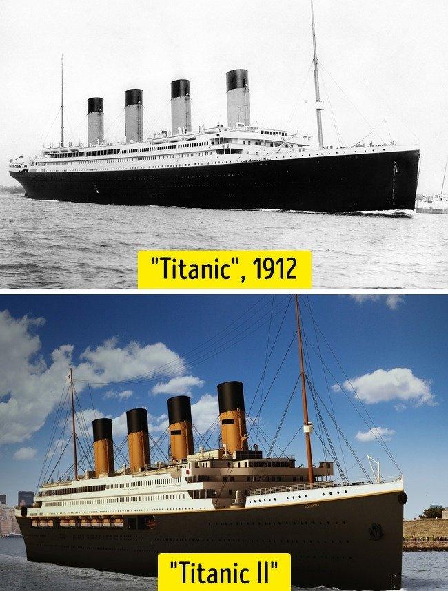Titanic 1 vs Titanic 2