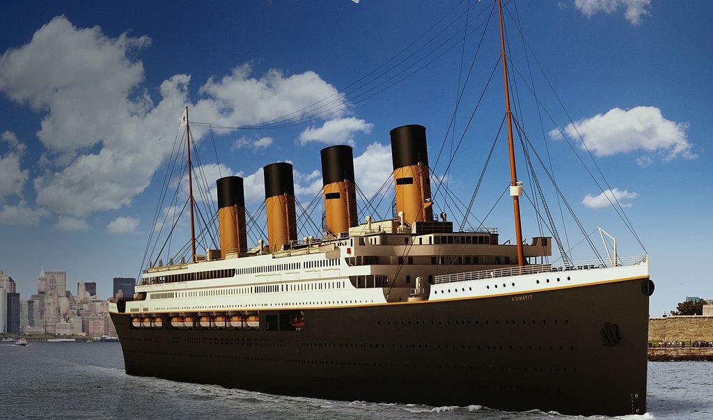 Vu de profil du Titanic 2