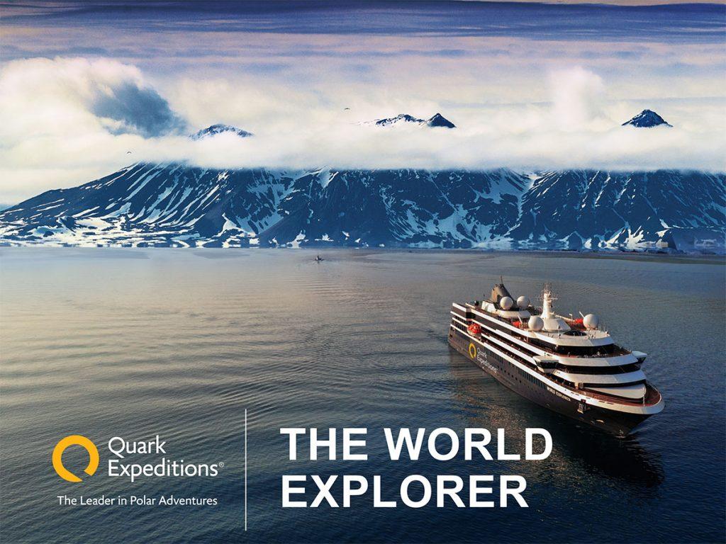 World Explorer bateau de la compagnie de croisière Quark Expeditons