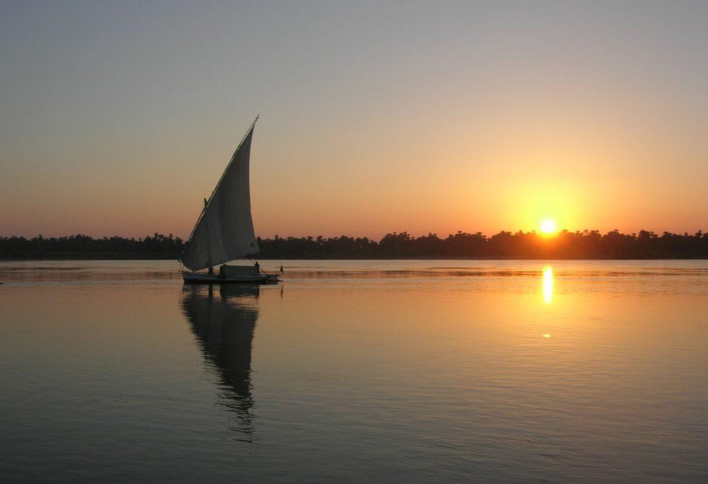Levé de soleil sur le Nil