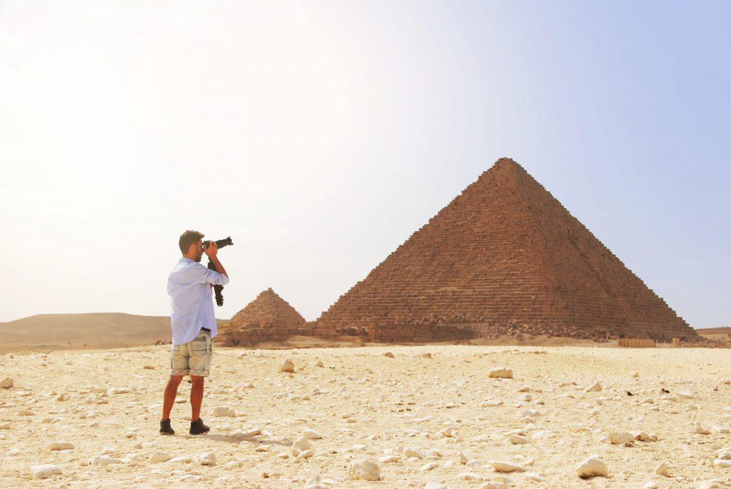 appareil photo pour les souvenirs en Egypte
