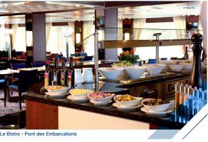 Restaurant-Buffet, Le Bistro - Jules Verne