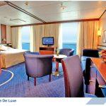 Suite extérieure de luxe du bateau Jules Verne (CMV)