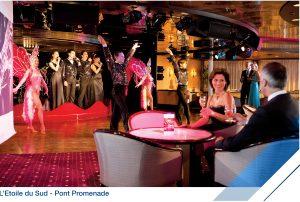 Cabaret l'Etoile du Sud à bord du Jules Verne