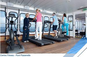 Fitness à bord du Jules Verne (Pont Passerelle)